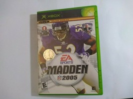 Madden NFL 2005 (Microsoft Xbox, 2004) - $4.22