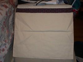 Tory Burch Purse Shoe Dust Bag Travel Laundry Storage 15x14 Gold Logo Charm, Bag - $11.83