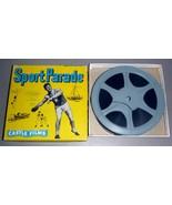 """Fishing Fun - Castle Films Sport Parade #354 8mm 5"""" Reel - $14.75"""
