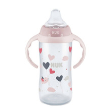 Large Learner Cup, 9+ Months, Girl, 1 Cup, 10 oz (300 ml), Pink Handled ... - $16.78