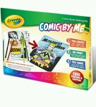Crayola Comic By Me Kit Creative Write Create Own Book Kids Author Child... - $56.06