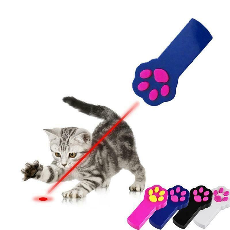 Cat Toys LED Laser Pointer Interactive Playing Training Supplies Pet Accessories