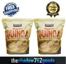 Kirkland Signature Certified Organic Quinoa Kosher 4.5 lbs Resealable Ba... - $38.86