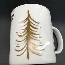 Starbucks Gold Tree Christmas Mug 2014 - $16.82