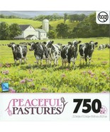TCG Peaceful Pastures  by Bonnie Mohr 750 Piece Jigsaw Puzzle Sweet Summer - $11.88