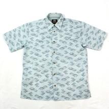 NEW Weatherproof Ripstop Button Up Fishing Shirt Size Medium Caped Venti... - $17.83