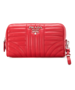 PRADA  Pouch Bag 1NE009-2D91F0011 with Free Gift - $750.00