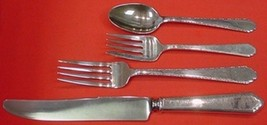 William and Mary by Lunt Sterling Silver Dinner Size Place Setting(s) 4pc - $221.45