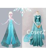 Elsa Dress, Queen Elsa Costume - £103.76 GBP