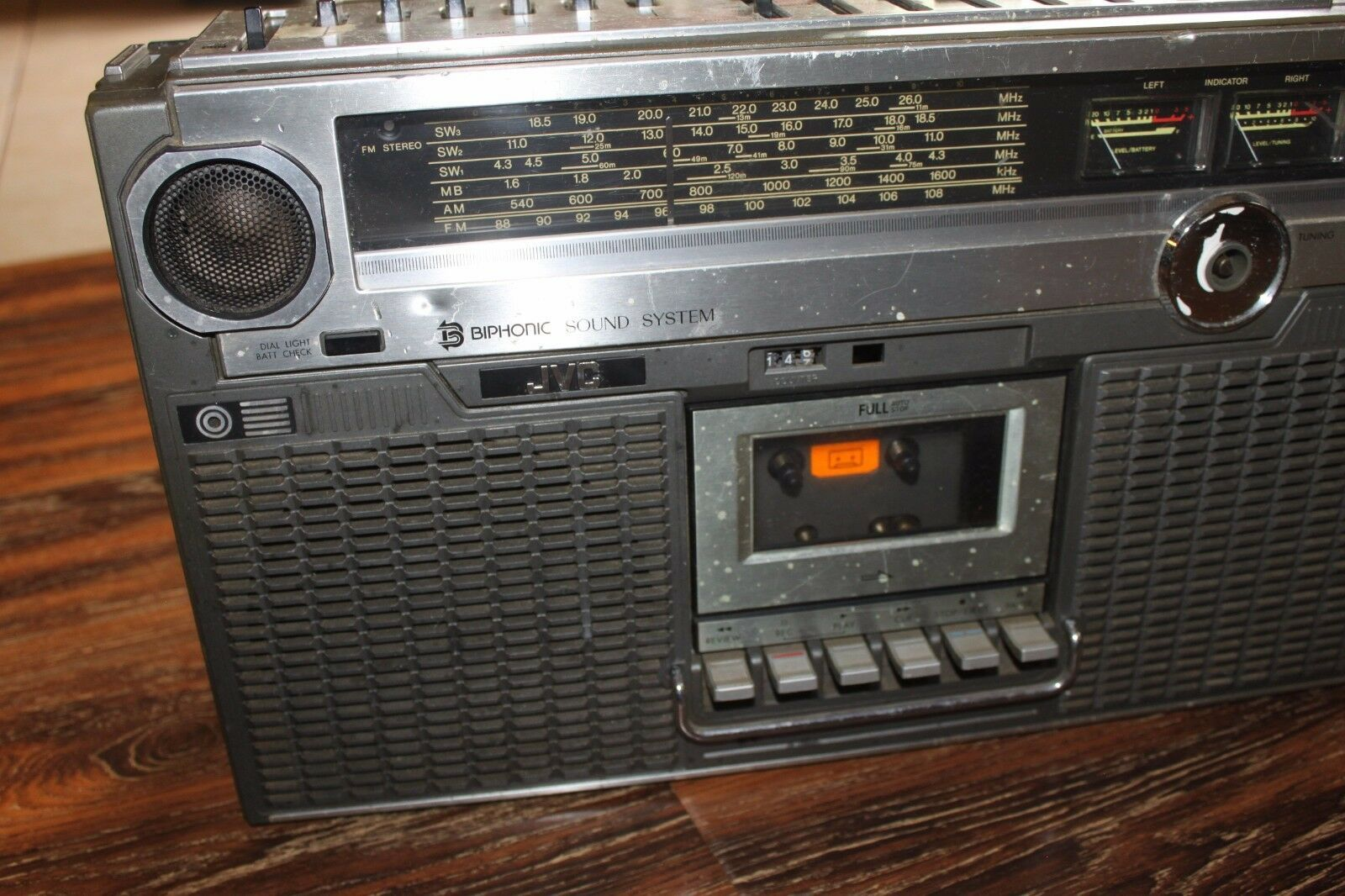 JVC RC-828jw Vintage Boombox-powers on -as and 50 similar items