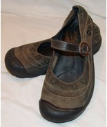 Keen Mary Jane Style Shoes 9 Olive Green Womens - $46.08