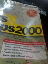 Microsoft Expedia Streets & Trips 2000 (Microsoft) Maps Travel Software ... - $19.39