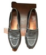 Men's Allen Edmonds Black Chelsea Leather Shoes Loafers 10 B (new VIBRAM... - $32.66