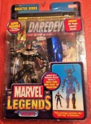Marvel Legends Galactus BAF Left Leg Bullseye Angry Variant 2005 RARE ERROR