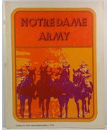 Notre Dame Army October 19, 1974 Notre Dame Stadium Program - $8.99