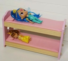 """Pink Bunk Beds for Dolls - 12"""" Long - $17.46"""