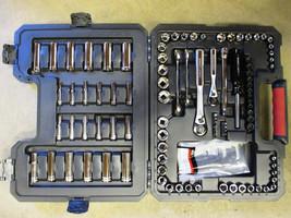 Craftsman 108 PC Mechanics Tools Metric Mechanics Tool Set Sockets Wrenc... - $70.10