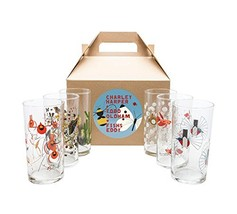 Charley Harper Wine Glasses Set of 6 by Todd Oldham - $75.22