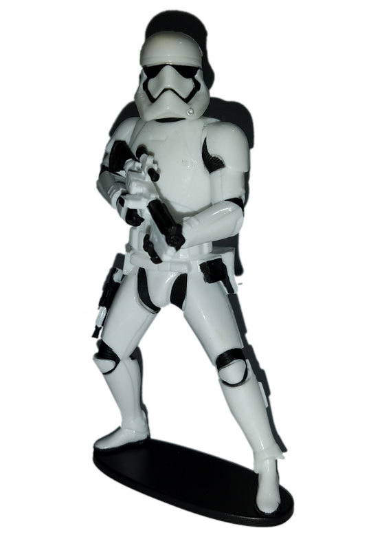 "Star Wars ""Force Push"" First Order Stormtrooper Figure w/Base Replacement Pieces"