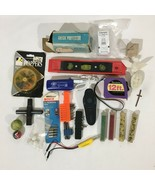 Junk Drawer Lot Tools Crafts Beads Marbles Electrical Screwdriver Bits M... - $19.79