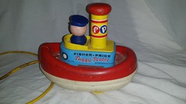 FISHER PRICE TUGGY TOOTER VINTAGE - $20.31