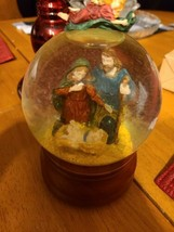 "Music Box Company ""O Little Town Of Bethlehem"" Snow Globe - $35.00"