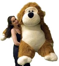 Huge Stuffed Monkey Size 51 Inch Waist Big Plus... - $154.10