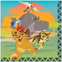 Lion Guard Lunch Dinner Napkins 16 Per Package Birthday Party Supplies New - $7.87