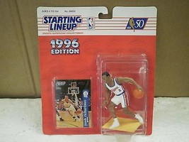 Starting LINEUP- 1996 EDITION- Pooh RICHARDSON- New On The CARD-BASKETBALL L147 - $6.26