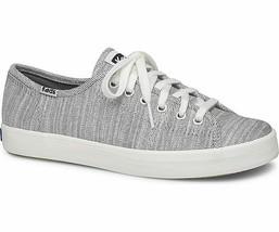 Keds Womens Kickstart Denim Twill Sneakers White/Black - $50.00
