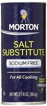 Morton Sodium Free Salt Substitute - 3.12 oz - $8.90
