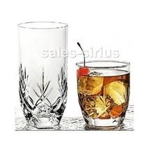 Drinking Glasses Set 16 Pc Drinkware Tumbler Drinks Glass Glassware Tumb... - $30.47