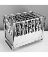 40pcs Stainless Steel Ice Cream Sticks Mold Ice Lolly Popsicle Pop Holder - $156.59