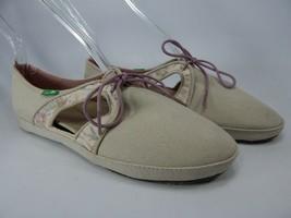 Sanuk Iris Sidewalk Surfer Size 7 M (B) EU 38 Women's Lace Up Shoes SSWF10601L