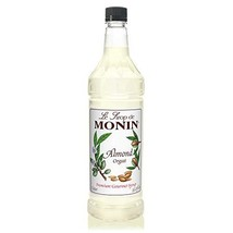 Monin - Almond Syrup, Sweet and Rich Nutty Aroma, Natural Flavors, Great... - $18.24