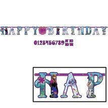 Disney Frozen Jumbo Add An Age Custom Letter Banner Birthday Party Supplies - $6.88