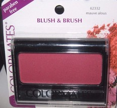Colormates Blush & Brush (Mauve alous) Paraben Free~ Long Wearing~ New/S... - $2.69