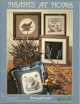 Hearts At Home Cross Stitch Stoney Creek Collection Book 43 Country Pattern - $6.99