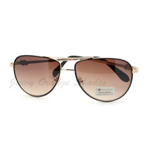 Women's Aviator Sunglasses Classic Color Metal Aviators - $7.95
