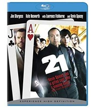 An item in the DVDs & Movies category: 21 [Blu-ray]