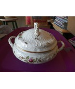 Rosenthal San Souci Rose covered round bowl 1 available - $200.97