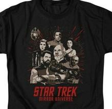 Star Trek Mirror Universe Parallel Universe Sci-Fi graphic t-shirt CBS2228 image 2