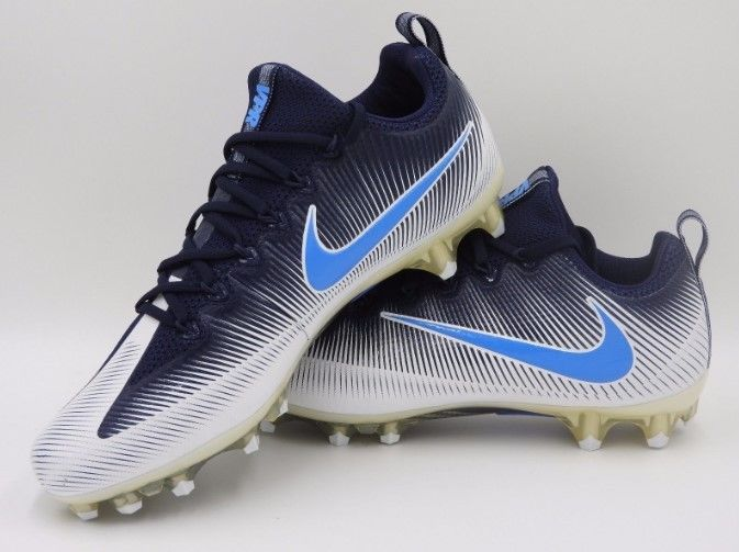 4e68bd120 ... Nike Vapor Untouchable Pro Football Cleats White Blue SZ 15 (  839924-131 ) ...