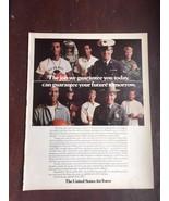 1972 United States Air Force US Ad Print Advertisement 21362 Vintage - $9.94