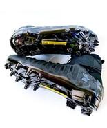 New Under Armour Cam Newton CN1 Triple Black Football Cleats 1289763-001... - $99.99