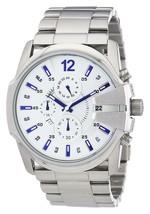 Diesel DZ4181 Master Chief Silver Chronograph Mens Watch - £69.99 GBP