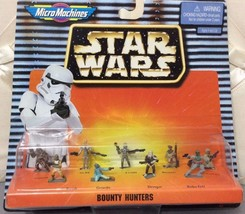 Micro Machines Star Wars Bounty Hunters New Sealed 1997 Galoob - $140.25