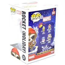 Funko Pop! Marvel Christmas Holiday Rocket Raccoon #531 Vinyl Bobble-Head Figure image 3