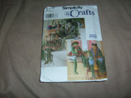 Simplicity Crafts 8170 26 inch Frogs and Clothes  1998 Uncut Unfolded - $4.93