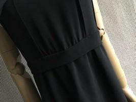 100% AUTHENTIC LOEWE LONG BLACK SLEEVELESS EVENING DRESS  image 9